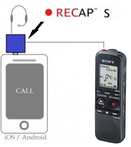 how to record phone calls with digital voice recorder